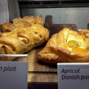 Apricot danish pastry at Euporium Bakery in Covent Garden, London. Photo by alphacityguides.