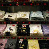 T-shirts at UT Uniqlo in Tokyo. Photo by alphacityguides.