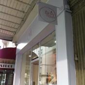 Store front at Des Petits Hauts in Paris. Photo by alphacityguides.