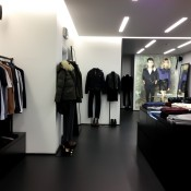 Inside The Kooples in London. Photo by alphacityguides.
