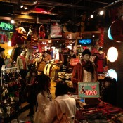 Menswear fashion at Wego Harajuku in Tokyo. Photo by alphacityguides.