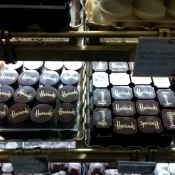 Chocolates at Harrods in London. Photo by alphacityguides.