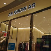 As Know As womenswear at The One Mall in Hong Kong. Photo by alphacityguides.