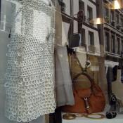 Fashion inside Les Parisiennes in Paris. Photo by alphacityguides.