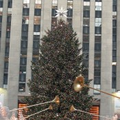 Rockefeller Christmas Tree in New York. Photo by alphacityguides.