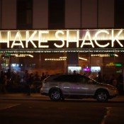 Outside Shake Shack in New York. Photo by alphacityguides.