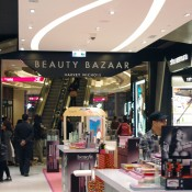 Harvey Nichols Beauty Bazaar at The One Mall in Hong Kong. Photo by alphacityguides.