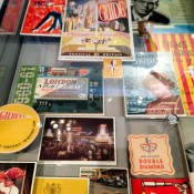 Historic graphic material at the Museum of London. Photo by alphacityguides.