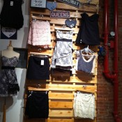 Fashion inside Brandy Melville in New York. Photo by alphacityguides.