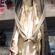 Fashion display at Culture Medium in Tokyo. Photo by alphacityguides.