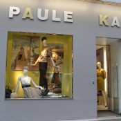 Store front at Paule Ka in Paris. Photo by alphacityguides.