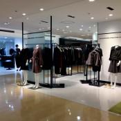 Fashion display inside Matsuya in Tokyo. Photo by alphacityguides.