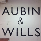 Aubin and Wills in London. Photo by alphacityguides.