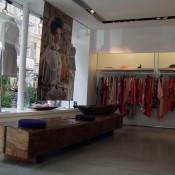 Fashion display inside Crea Concept in Paris. Photo by alphacityguides.