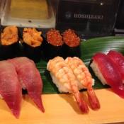 Sushi at Nihonkai Asakusa in Tokyo. Photo by alphacityguides.