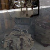 Accessories in the window at Earnest Swen in New York. Photo by alphacityguides.