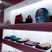 Fashion display inside A Bathing Ape in Tokyo. Photo by alphacityguides.