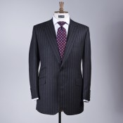 Bespoke suit at Henry & Poole. Photo supplied by Henry & Poole