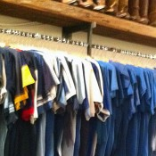 Fashion inside Scout Vintage T-Shirts in New York. Photo by alphacityguides.
