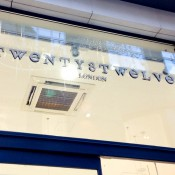 Store front at Twenty8Twelve in London. Photo by alphacityguides.