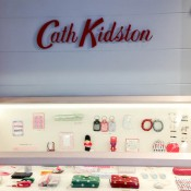 Accessories display at Cath Kidston in London. Photo by alphacityguides.