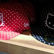 Hello Kitty hats at Onspotz in Tokyo. Photo by alphacityguides.