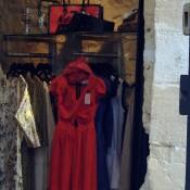 Fashion at Simonne & Lisa B in Paris. Photo by alphacityguides.