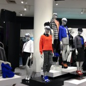 Topshop fashion display at Selfridges & Co. in London. Photo by alphacityguides.