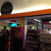 Food market at Harvey Nichols in London. Photo by alphacityguides.