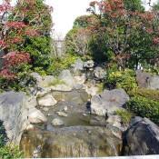 River in Sensoji Temple garden in Tokyo. Photo by alphacityguides.