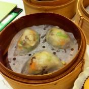 Dumplings at Crystal Jade in Hong Kong. Photo by alphacityguides.