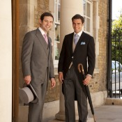 Bespoke morning suits from Huntsman in London. Photo supplied by Huntsman.