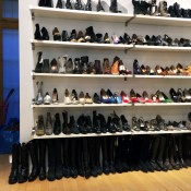 Vintage Shoes at INA NoHo in New York. Photo by alphacityguides.