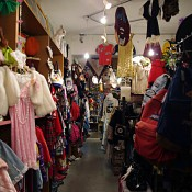 Vintage fashion at G2? in Tokyo. Photo by alphacityguides.