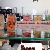 Mini me's (mini flavored meringues) at Dominique Ansel Bakery. Photo by alphcityguides.