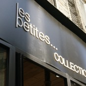 Store front at Les Petites in Paris. Photo by alphacityguides.