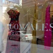 Window dispaly at Pamela Gonzales in New York. Photo by alphacityguides.