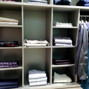 Men's wear display at Harvey Nichols in London. Photo by alphacityguides.