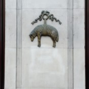 Brooks Brothers Logo in London. Photo by alphacityguides.