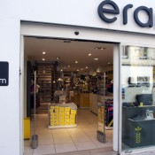 Store front at Eram in Paris. Photo by alphacityguides.