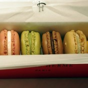 Macarons from Pierre Hermé.