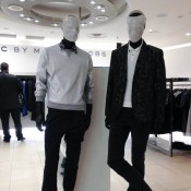 Marc Jacobs men's wear display at Harvey Nichols in London. Photo by alphacityguides.