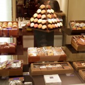 Jean-Paul Hévin chocolate display. Photo by alphacityguides.