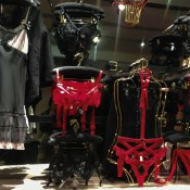 Lingerie fashion display at Selfridges & Co. in London. Photo by alphacityguides.