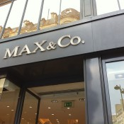 Store front at MAX & Co in Paris. Photo by alphacityguides.