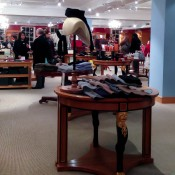 Menswear at Fortnum and Mason in London. Photo by alphacityguides.