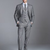 Grey suit from Gieves & Hawkes. Photo supplied by Gieves & Hawkes.