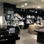 Silver department at Harrods in London. Photo by alphacityguides.