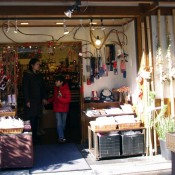 Shop in Nakamise Market in Tokyo. Photo by alphacityguides.