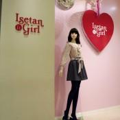 Isetan Girl fashion display at Isetan